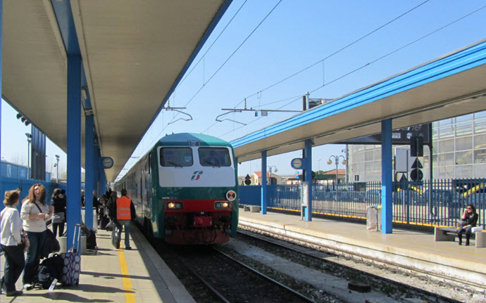 Train Station Pisa Italy