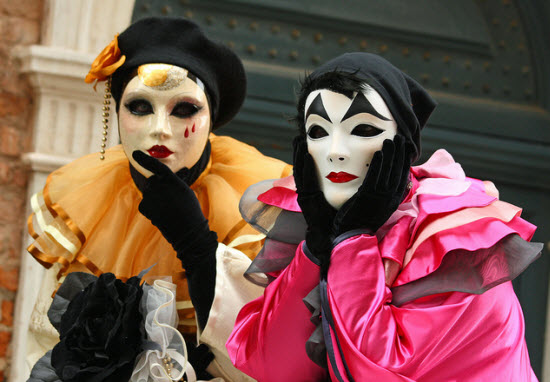 Carnevale Costumes and Masks