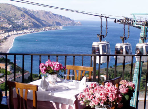Taormina, Italy – Bella Blu Restaurant Review