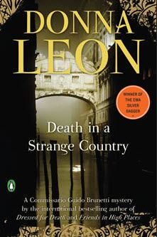 Death in a Strange Country - Commissario Guido Brunetti Mysteries