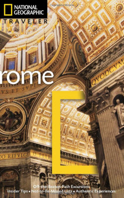 National Geographic Traveler Rome, Italy Guide Book Review