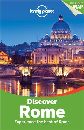 Lonely Planet Discover Rome Guide Book Review