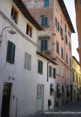 Street in Lucca Italy