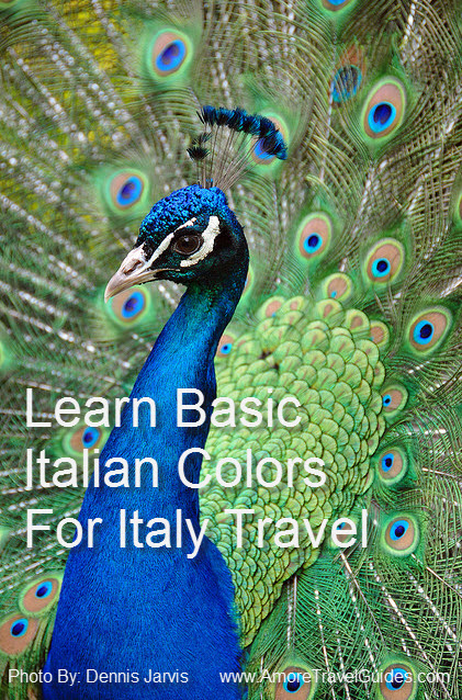 Know Your Colors (I Colori) in Italian