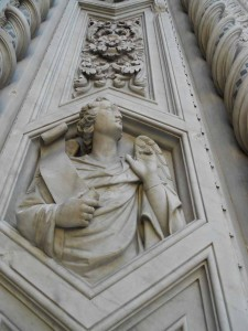 Marble Carving Duomo Florence Italy