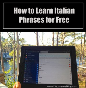 Learn Basic Italian Phrases Free