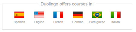 Learn Spanish, French, English, German, Portugese and Italian Free