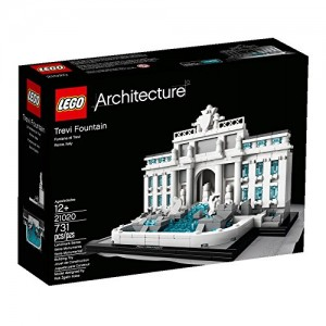 Build Trevi Fountain From Legos