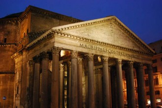 Pantheon Night Rome, Italy