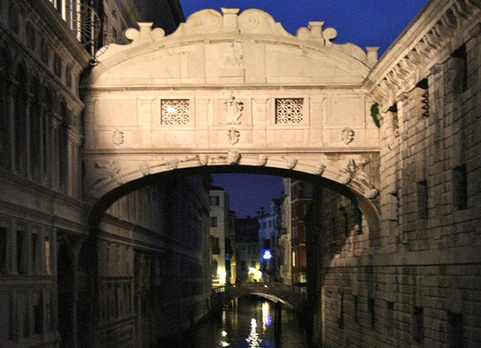 Bridge of Sighs - Venice Night
